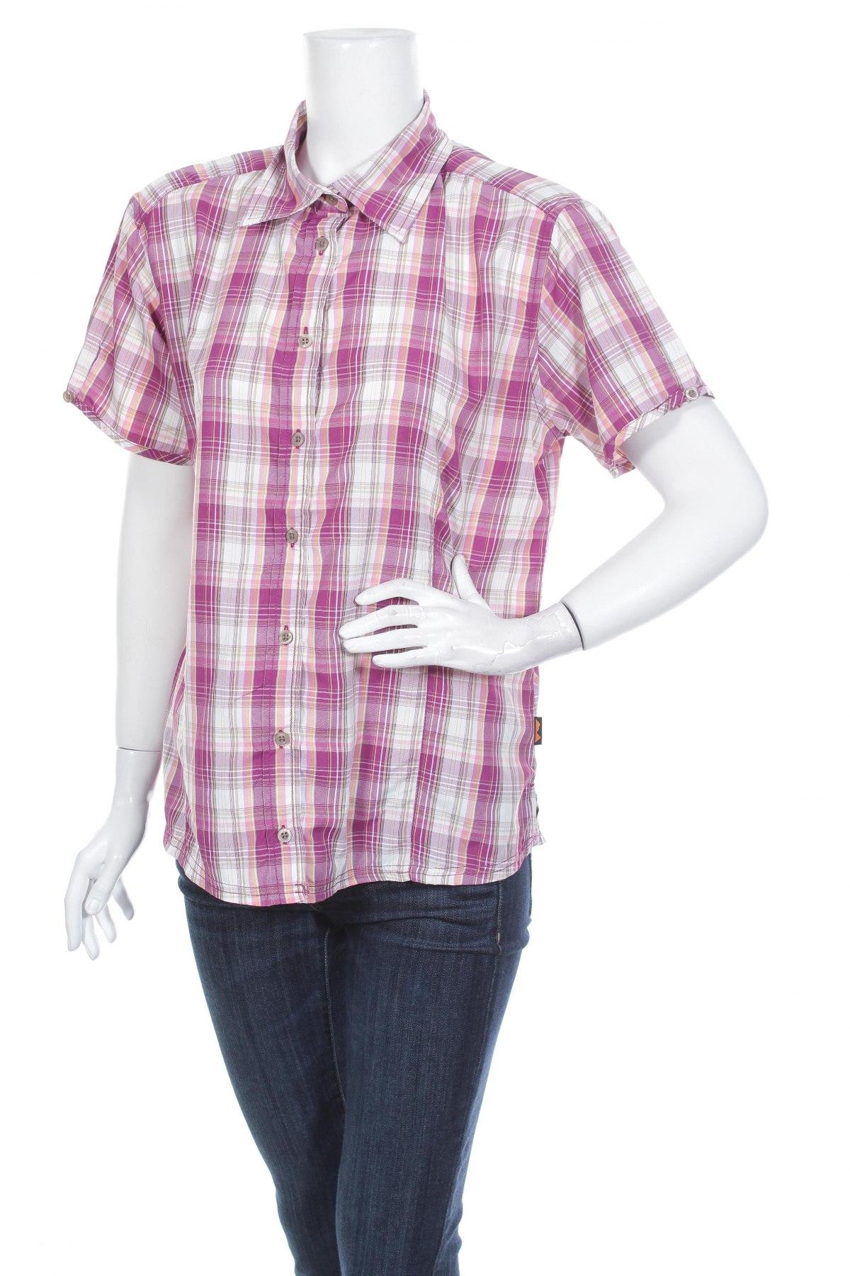 Γυναικείο πουκάμισο Big Tramp, Μέγεθος XL, Χρώμα Πολύχρωμο, Πολυεστέρας, Τιμή 9,28€