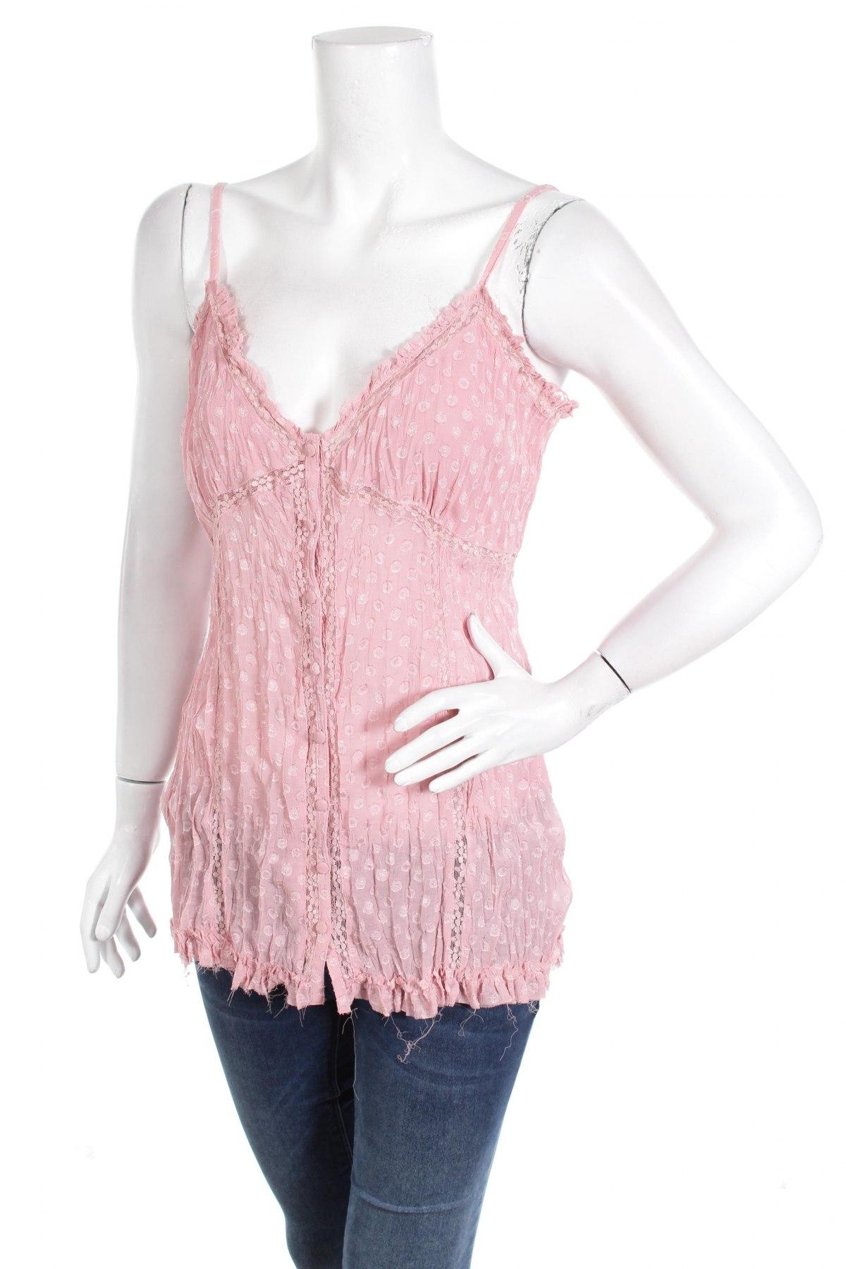 Γυναικείο πουκάμισο New Look, Μέγεθος XL, Χρώμα Βιολετί, Πολυεστέρας, Τιμή 10,82€