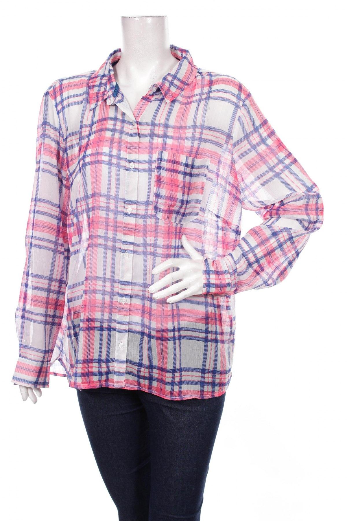 Γυναικείο πουκάμισο Woman By Tchibo, Μέγεθος XL, Χρώμα Πολύχρωμο, Τιμή 16,70€