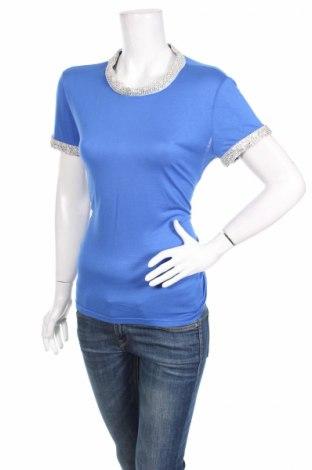 Γυναικεία μπλούζα Be You, Μέγεθος M, Χρώμα Μπλέ, 95% βαμβάκι, 5% ελαστάνη, Τιμή 4,02€