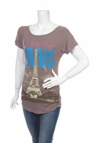 Γυναικεία μπλούζα Charlize, Μέγεθος M, Χρώμα Καφέ, 90% βισκόζη, 10% ελαστάνη, Τιμή 2,78€