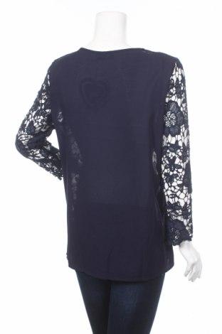 Дамска блуза Club L, Размер XL, Цвят Син, Полиестер, Цена 33,15лв.