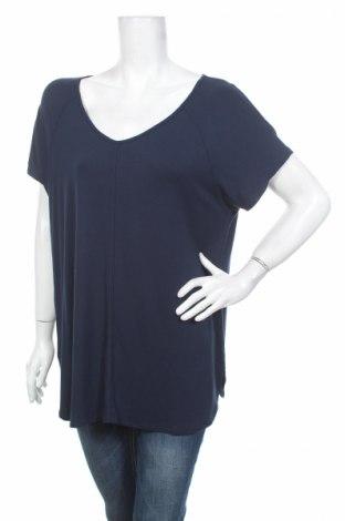 Дамска блуза Gina Laura, Размер M, Цвят Син, Цена 4,00лв.