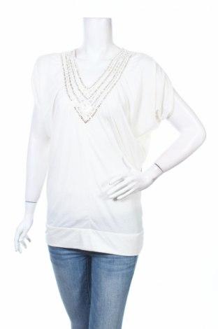 Γυναικεία μπλούζα Isabella Rodriguez, Μέγεθος M, Χρώμα Λευκό, 60% πολυεστέρας, 40% βισκόζη, Τιμή 5,41€