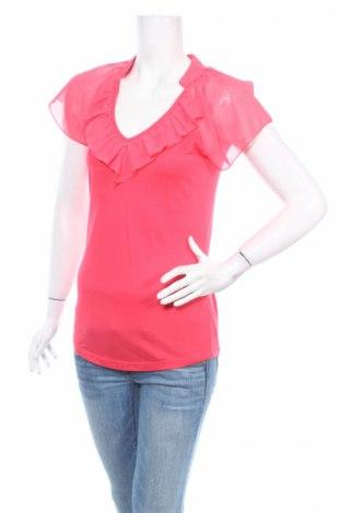 Дамска блуза Laura Scott, Размер M, Цвят Розов, 65% вискоза, 35% полиестер, Цена 4,59лв.