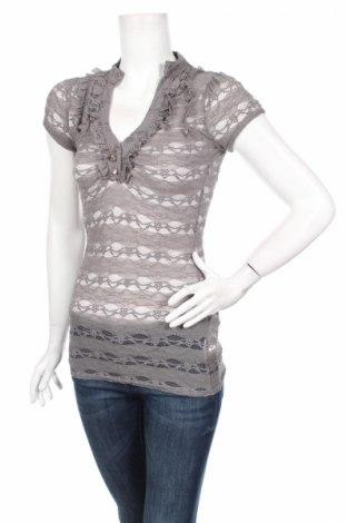 Дамска блуза Orsay, Размер XS, Цвят Сив, 95% полиамид, 5% еластан, Цена 4,00лв.