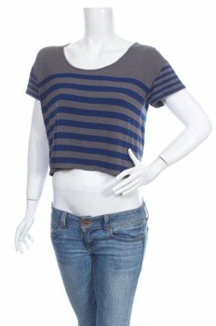 Дамска блуза Say What, Размер L, Цвят Сив, 95% вискоза, 5% еластан, Цена 4,48лв.