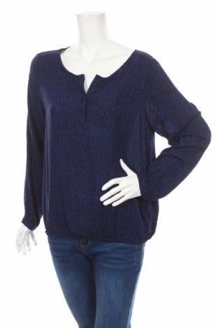 Дамска блуза Soya Concept, Размер L, Цвят Син, Вискоза, Цена 25,00лв.