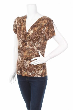 Дамска блуза Susan Lawrence, Размер M, Цвят Кафяв, 92% полиестер, 8% еластан, Цена 5,00лв.