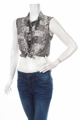 Γυναικείο πουκάμισο Atmosphere, Μέγεθος M, Χρώμα Μαύρο, 100% πολυεστέρας, Τιμή 3,91€