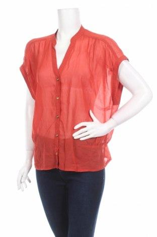 Дамска риза Impulse, Размер XL, Цвят Червен, Полиестер, Цена 4,50лв.