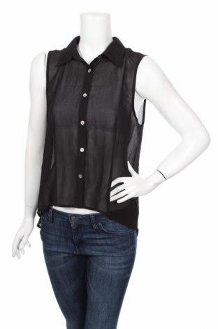 Дамска риза Iris, Размер L, Цвят Черен, 100% полиестер, Цена 4,00лв.