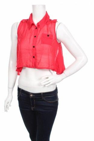 Γυναικείο πουκάμισο Lipsy London, Μέγεθος L, Χρώμα Κόκκινο, Τιμή 2,94€