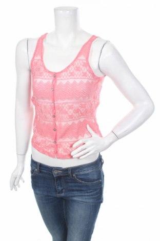 Дамска риза Miss Shop, Размер S, Цвят Розов, 70% памук, 30% полиамид, Цена 5,25лв.