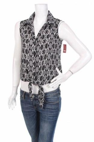 Дамска риза No Boundaries, Размер M, Цвят Черен, Полиестер, Цена 7,82лв.