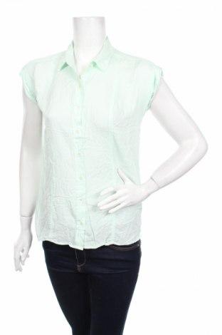 Γυναικείο πουκάμισο Trenery, Μέγεθος XS, Χρώμα Μπλέ, Μοντάλ, Τιμή 3,71€