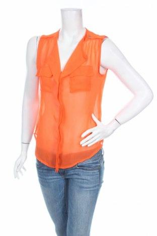 Дамска риза Ultra Flirt, Размер S, Цвят Оранжев, Полиестер, Цена 4,56лв.