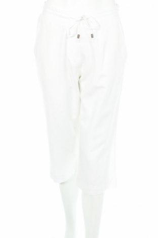 Дамски панталон Anthology, Размер M, Цвят Бял, 50% вискоза, 35% памук, 15% лен, Цена 12,35лв.