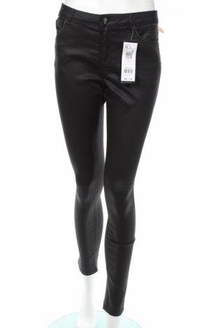 Γυναικείο παντελόνι Cache Cache, Μέγεθος L, Χρώμα Μαύρο, 62% βαμβάκι, 35% πολυεστέρας, 5% ελαστάνη, Τιμή 26,14€