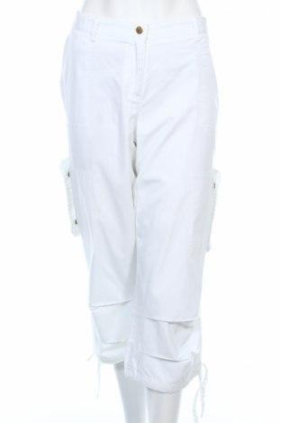 Γυναικείο παντελόνι Mia Linea, Μέγεθος L, Χρώμα Λευκό, Τιμή 3,56€