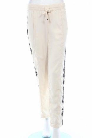 Dámske nohavice Oui, Veľkosť M, Farba Kremová, 50% polyester, 50% polyamide, Cena  21,22€