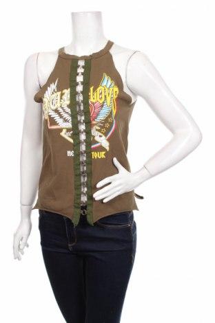 Γυναικείο αμάνικο μπλουζάκι A&d