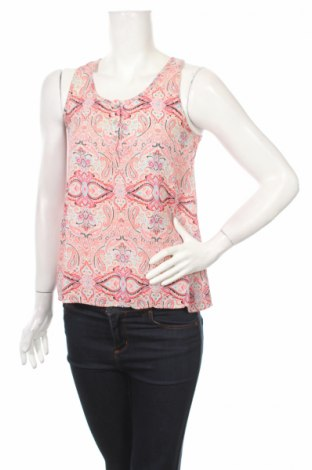 Γυναικείο αμάνικο μπλουζάκι Pink Rose, Μέγεθος XS, Χρώμα Πολύχρωμο, Πολυεστέρας, Τιμή 3,71€