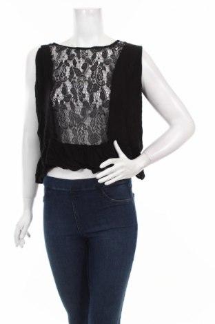 Γυναικείο αμάνικο μπλουζάκι True, Μέγεθος S, Χρώμα Μαύρο, 100% βισκόζη, Τιμή 2,17€