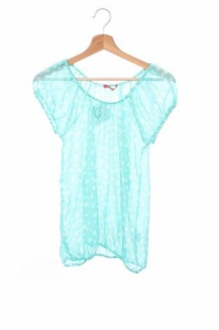 Детска блуза A Punto, Размер 12-13y/ 158-164 см, Цвят Зелен, 100% полиестер, Цена 4,25лв.