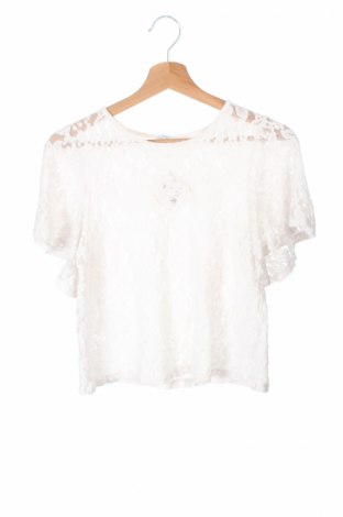 Детска блуза Lindex, Размер 12-13y/ 158-164 см, Цвят Бял, Цена 4,25лв.
