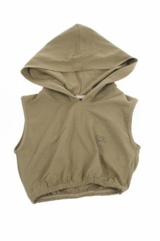 Детски суичър Kocca, Размер 7-8y/ 128-134 см, Цвят Зелен, 90% памук, 10% еластан, Цена 17,00лв.