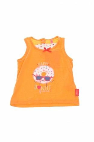 Детски потник Lina Pink, Размер 2-3m/ 56-62 см, Цвят Оранжев, 100% памук, Цена 10,15лв.