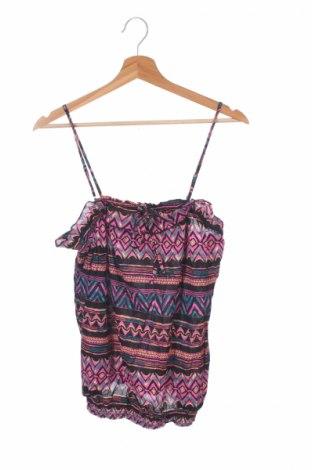 Μπλουζάκι αμάνικο παιδικό Op, Μέγεθος 15-18y/ 170-176 εκ., Χρώμα Πολύχρωμο, Βαμβάκι, Τιμή 3,47€
