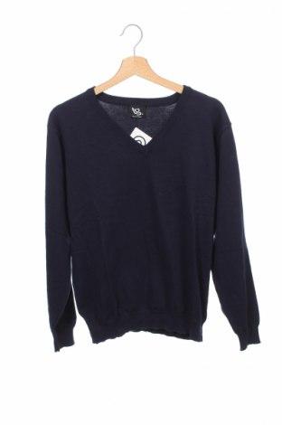 Detský sveter  Tg, Veľkosť 13-14y/ 164-168 cm, Farba Modrá, 79% bavlna, 21% polyester, Cena  8,20€