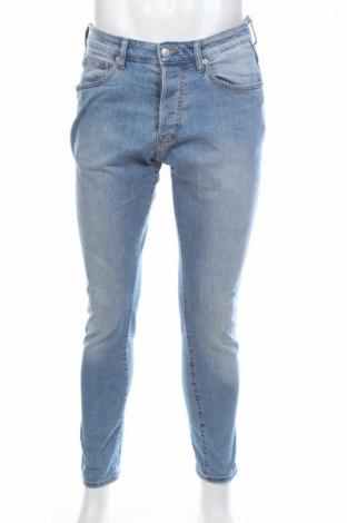 Мъжки дънки, Размер M, Цвят Син, 85% памук, 14% полиестер, 1% еластан, Цена 14,00лв.