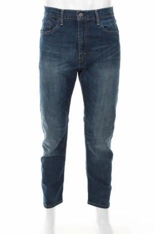 Мъжки дънки Levi's, Размер L, Цвят Син, 98% памук, 2% еластан, Цена 46,35лв.