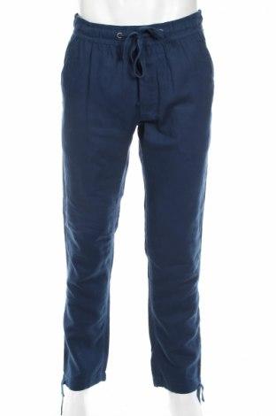 Мъжки панталон Mc Neal, Размер M, Цвят Син, 60% памук, 40% лен, Цена 34,30лв.