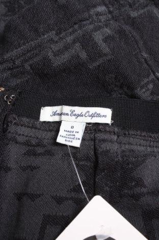 Φούστα American Eagle, Μέγεθος XS, Χρώμα Μαύρο, Βαμβάκι, Τιμή 3,16€