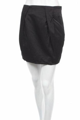 Пола Amisu, Размер XS, Цвят Черен, 52% вискоза, 48% памук, Цена 4,80лв.