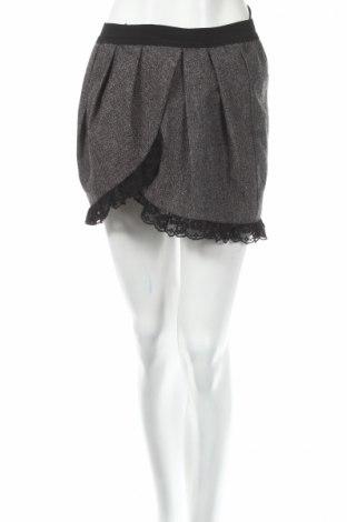 Sukňa Ann Christine, Veľkosť S, Farba Sivá, 65% polyester, 30% Polyacryl, 5% elastan, Cena  2,81€