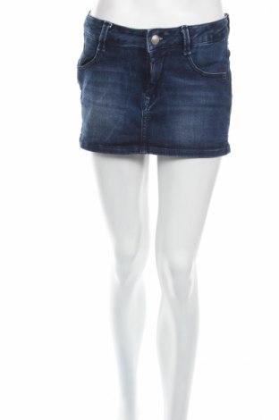 Пола Fornarina, Размер M, Цвят Син, 70% памук, 27% полиестер, 3% еластан, Цена 13,78лв.
