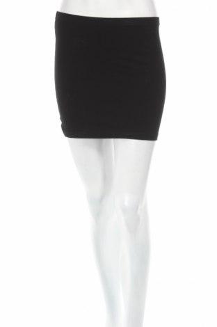 Φούστα H&M Divided, Μέγεθος XS, Χρώμα Μαύρο, 95% βαμβάκι, 5% ελαστάνη, Τιμή 3,56€