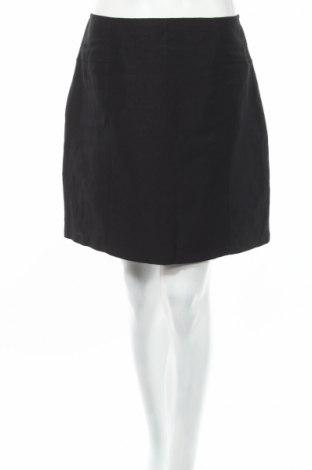 Пола In Wear, Размер L, Цвят Черен, 54% лен, 25% вискоза, 21% полиестер, Цена 7,48лв.