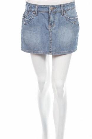 Пола New Jeans, Размер M, Цвят Син, 98% памук, 2% еластан, Цена 4,80лв.