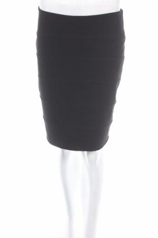 Пола Topshop Tall, Размер L, Цвят Черен, 93% полиестер, 7% еластан, Цена 5,75лв.