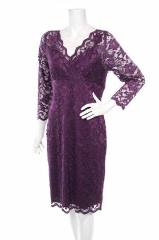 Φόρεμα Marina, Μέγεθος L, Χρώμα Βιολετί, 62% πολυαμίδη, 27% βισκόζη, 11% ελαστάνη, Τιμή 28,10€