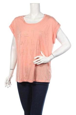 Дамска блуза Amy & Ivy, Размер XL, Цвят Розов, 65% полиестер, 35% вискоза, Цена 4,73лв.