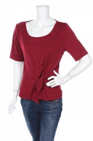 Дамска блуза Atmos & Here, Размер XL, Цвят Червен, 95% полиестер, 5% еластан, Цена 4,20лв.