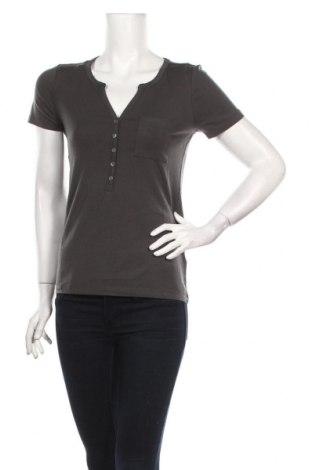 Дамска блуза Bon Prix, Размер XS, Цвят Сив, 95% лиосел, 5% еластан, Цена 6,84лв.