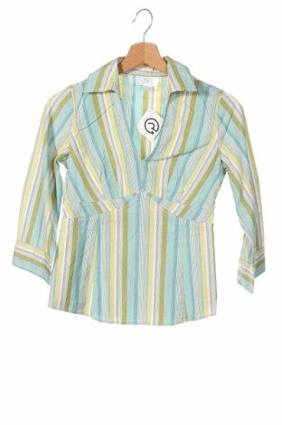 Дамска блуза Loft By Ann Taylor, Размер XS, Цвят Многоцветен, Памук, Цена 8,40лв.